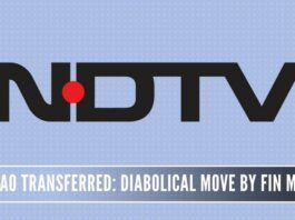 NDTV friendly officers in the Finance Ministry transfer the Assessing Officer and DC-IT who has been handling the case for the past six years