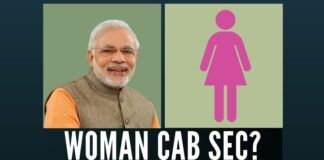 Will NaMo create history by selecting a Woman Cabinet Secretary?
