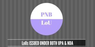 While PNB issued 19,512 LoUs during 2011-2014, it issued 21,666 since the time NDA is in power