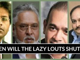 WHEN WILL THE LAZY LOUTS SHUT UP?