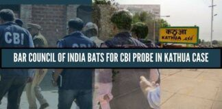 Bar Council of India bats for CBI probe in Kathua rape and murder case