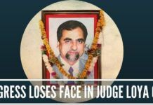 Congress loses face in judge Loya case