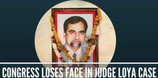 Congress loses face in judge Loya case