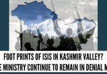 Foot prints of ISIS in Kashmir valley?