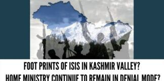 Foot prints of ISIS in Kashmir valley?