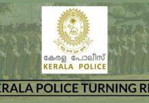Kerala Police turning Red