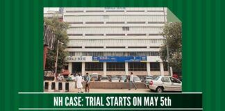 National Herald hearings on crucial documents to begin on May 5th