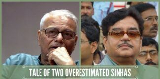 Tale of two overestimated Sinhas and their sorry state of affairs