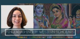 For many Western scholars, Hindu-bashing is the key to global academic success