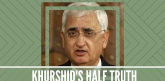Salman Khurshid 's half truth