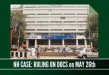 Ruling by the Magistrate on Congress documents to be admissible slated for May 26 in the National Herald case