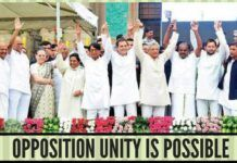 Opposition unites against BJP