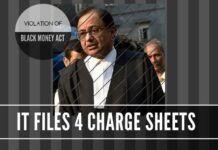 IT Department slaps 4 cases on the Chidambaram family under the Black Money and Benami Act