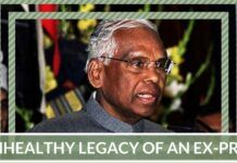 Unhealthy legacy of an Ex-President