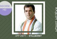 Will the self-endorsement of Rahul Gandhi ruin Opposition Unity before 2019?