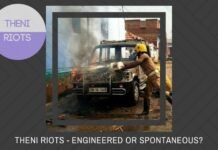 Were the Theni riots engineered or spontaneous?