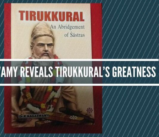 Dr Nagaswamy Reveals Tirukkural's Greatness