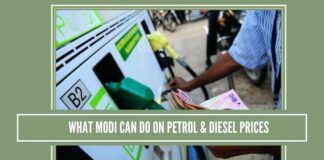 What Modi Can Do On Petrol & Diesel Prices