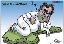 Sleeping Ramaiah: Karnataka CM dozing off during a rally in Kalaburagi