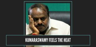 kumaraswamy begins to feel the heat