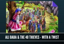 Ali Baba and the Forty thieves with a twist - why would the thieves want to protect Ali Baba? Graphic courtesy Shutterstock