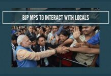 BJP MPs to interact with local gentry