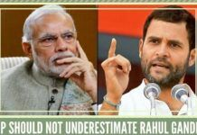 BJP should not underestimate Rahul Gandhi