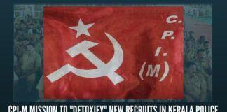 "CPI-M mission to ""detoxify"" new recruits in Kerala Police."