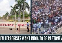 Green terrorists want India to be in Stone Age