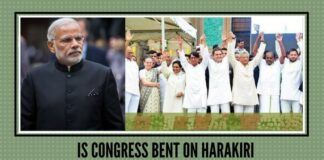 Is Congress bent on harakiri?