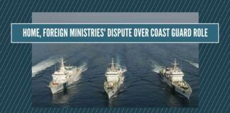 Home, Foreign Ministries lock horns over Coast Guard role