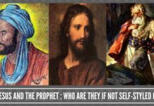 Moses, Jesus and the Prophet: who are they if not self-styled godmen?