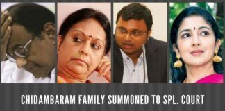 Will Karti and Srinidhi Chidambaram hurry back from London to be present in the court on June 25th?