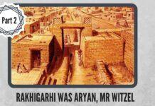 "Rakhigarhi was ""Aryan"", Mr Witzel"