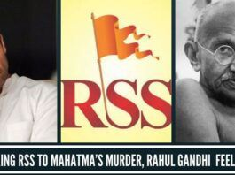 After linking RSS to Mahatma's murder, Rahul Gandhi begins to feel the heat
