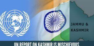 UN report on Kashmir is mischievous