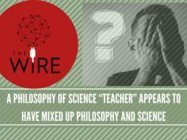 """A philosophy of science """"teacher"""" appears to have mixed up philosophy and science(2)"""