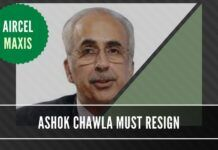 With his name in the CBI charge sheet on Aircel-Maxis scam, it behooves Ashok Chawla to step aside from all his roles till the investigation is completed