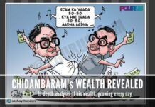 A look at how Chidambaram was the Rain Maker for his party. Finance Ministry must have been a hobby.