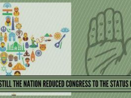 But Still The Nation Reduced Congress To The Status of 44
