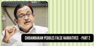 India's growth is unstoppable, albeit it can be slowed down by the likes of Chidambaram