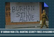 Ghost of Burhan Wani still haunting security forces in Kashmir valley
