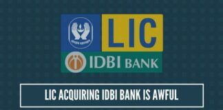 LIC acquiring IDBI Bank is awful