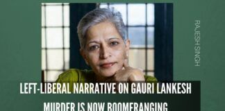 Left-liberal narrative on Gauri Lankesh murder is now boomeranging