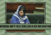 PDP Chief Mehbooba Mufti faces rebellion in her own backyard