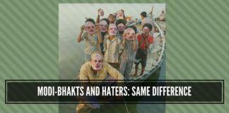 Nobody likes or dislikes Prime Minister Narendra Modi; they love or hate him.