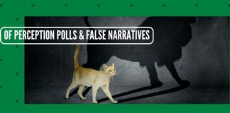 Of Perception polls and building dangerously false narratives