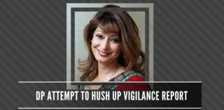 Delhi Police try to hush up the Vigilance report detailing how the first investigation team tried to botch the Sunanda murder case