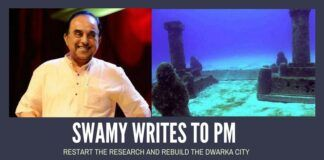 Dr. Swamy writes to PM, suggests rebuilding ancient Dwarka based on underwater ruins