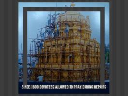 Devotees have a fundamental right to pray. Is this being violated during the repairs done at Tirumala?